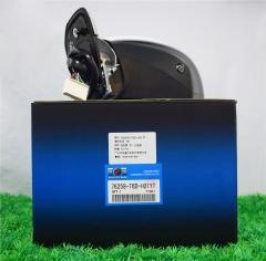倒车镜(左)15P蓝玻 奥德赛15- 带电动换向+折叠+灯+加热+盲区+摄像头+光纤蓝
