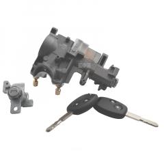 全车锁(带遥控芯片)2个锁芯 奥德赛05-08款