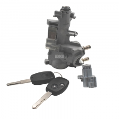全车锁(带遥控芯片)2个锁芯 飞度09-14款